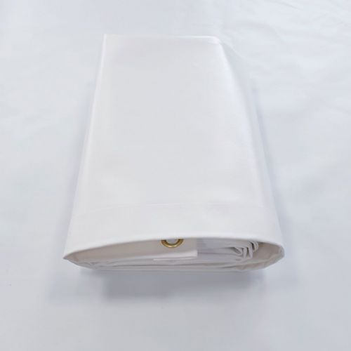 Heavy Duty White Tarpaulin